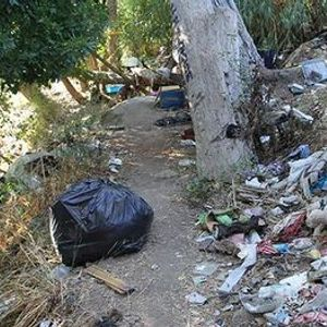 Mid-Week Cleanup Event On Guadalupe River at West Virginia Street
