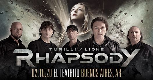 Turilli Lione Rhapsody El Teatrito Buenos Aires