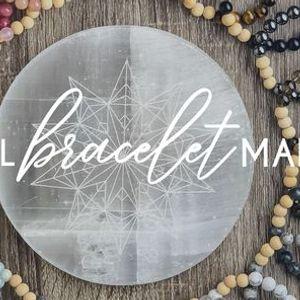 Crystal Bracelet Making at the Soul Nook Collective