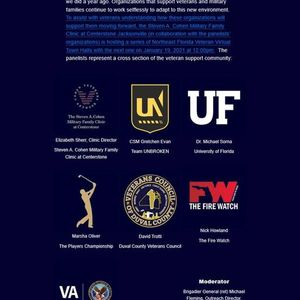 Northeast Florida Military Veterans Virtual Town Hall III
