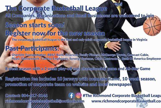 The Richmond Corporate Basketball league at St  Joseph's Villa