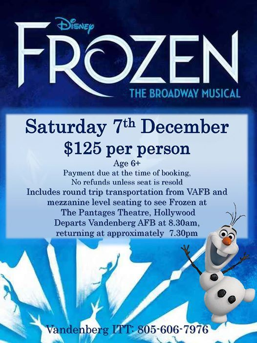 Disney Frozen Broadway Musical