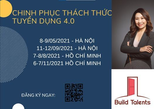 CP08-Chinh phục thách thức tuyển dụng 4.0, 11 September   Event in Hanoi   AllEvents.in