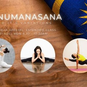 Merdeka Special Hanumanasana & its variations