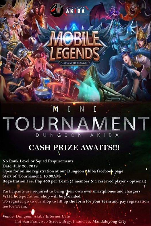 Dungeon Akiba ML Mini Tournament | Manila