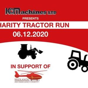 KO Machines Charity Tractor Run