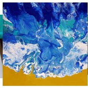 Online painting -Pour Class-Cork N Canvas Iowa