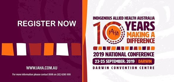 2019 IAHA National Conference