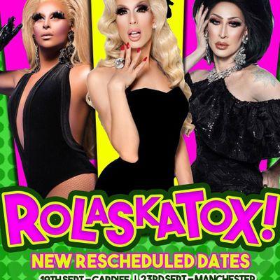 Klub Kids Manchester presents The Ro-Laska-Tox Reunion Tour (ages 14)