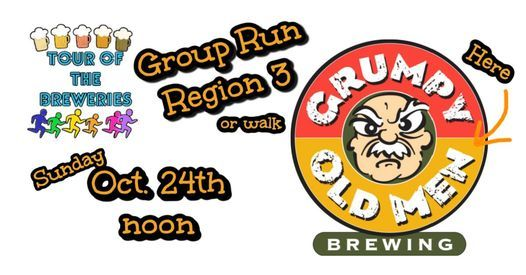 Group Run at Grumpy Old Men Brewing for Tour of the Breweries, 24 October | Event in Blue Ridge | AllEvents.in