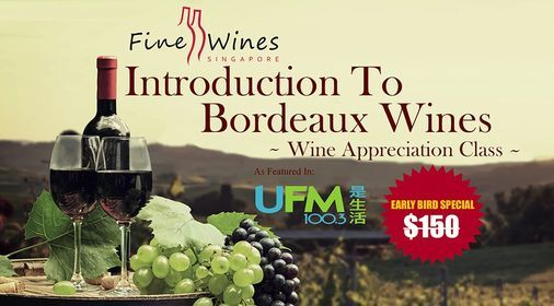 Introduction to Bordeaux Wine, 23 September | Online Event | AllEvents.in