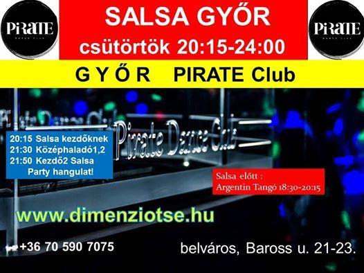 Salsa Gyr 08.06. cstrtk 2015 ra Pirate Club a belvrosban