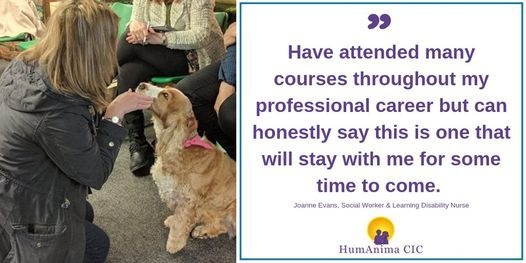 Animal Assisted Therapy in Counselling Course - Autumn 2020