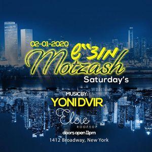 Motzash Saturdays TLVxNYC