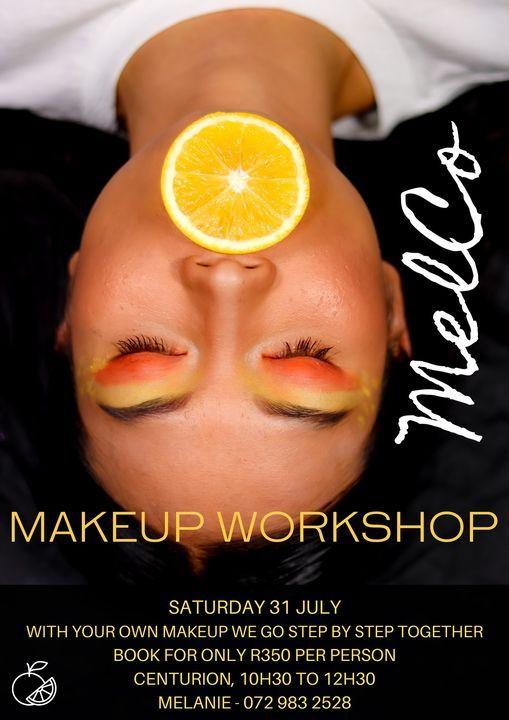 Makeup Workshop, 7 August | Event in Pretoria | AllEvents.in
