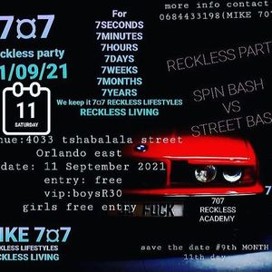 707 RECKLESS PARTY
