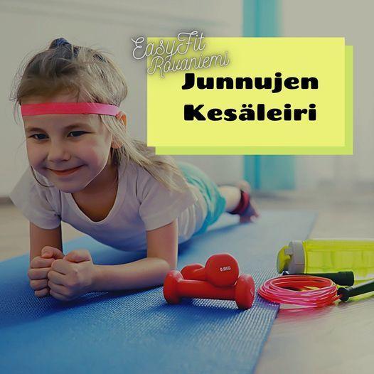 Junnujen liikuntaleiri nro5, 12 July | Event in Rovaniemi | AllEvents.in