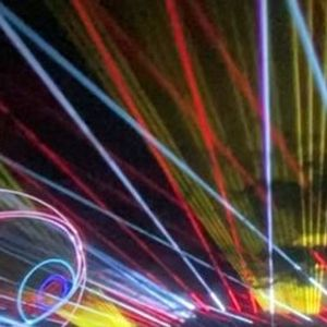 The Drive-in Laser Show by Cabin Fever -Little Rock