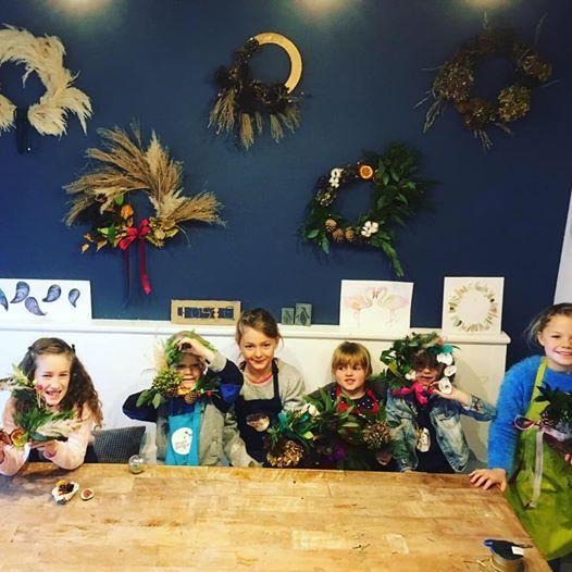 After School Wreath Making - Childrens Workshop