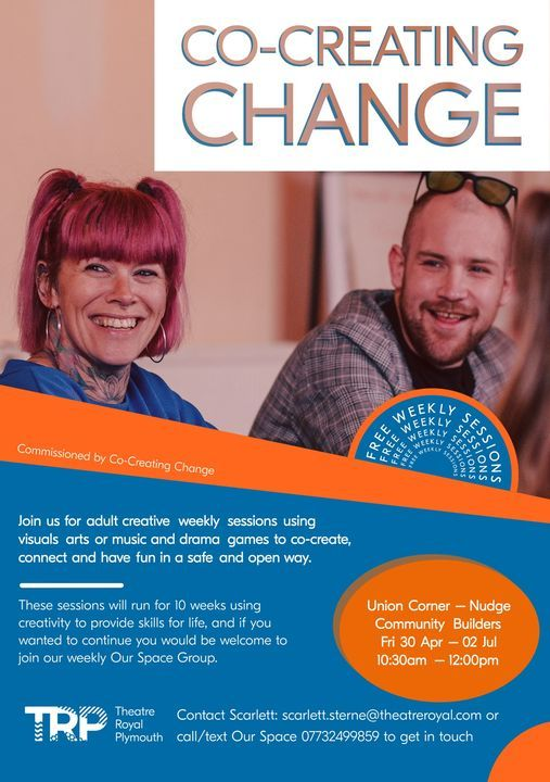 Co-Creating Change Drama Workshops, 14 May | Event in Plymouth | AllEvents.in