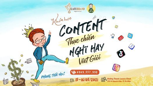 Khóa Học Content Thực Chiến Tháng 05, 15 May | Event in Danang | AllEvents.in