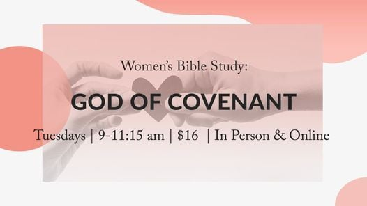 Women's Morning Bible Study - God of Covenant | Event in Allentown | AllEvents.in