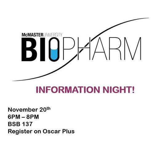 BioPharm Information Night
