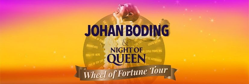 Johan Boding & Night of Queen p Magasinet Falun