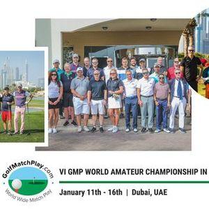 VI GMP World Amateur Championship in Dubai 2021