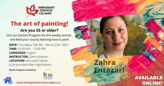 The Art of Painting! | Event in Calgary | AllEvents.in