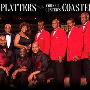 The Drifters The Platters & Cornell Gunters Coasters