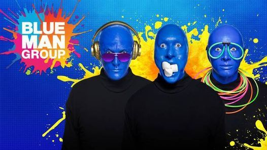 Discounted Seats - Blue Man Group New York, 16 June | Event in York | AllEvents.in