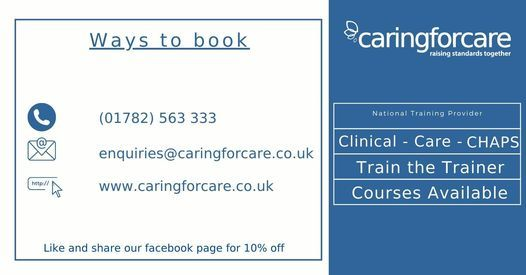 Moving & Handling People Training, 7 May | Event in Kidsgrove | AllEvents.in