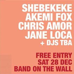 ICW SheBeKeke Akemi Fox Chris Amor Jane Loca - Free entry