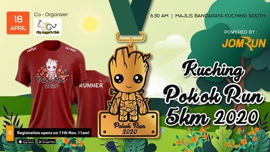 Kuching Pokok Run 5KM 2020