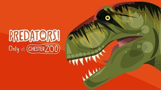 Predators at Chester Zoo (runs from 25 May - 8 September)
