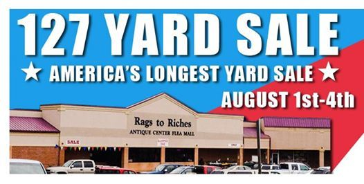 127 Yard Sale Event - Rags to Riches 2019 at Rags to Riches