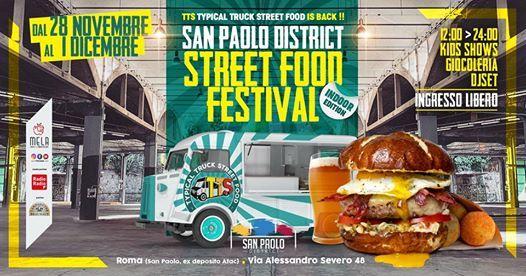 San Paolo District - Festival dello Street Food Indoor Edition
