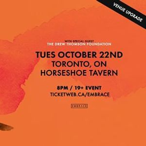 Ruston Kelly at Horseshoe Tavern  Oct 22