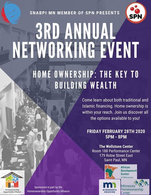 Snabpi MN 3rd annual Networking Event Home Ownership