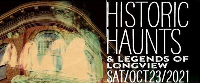 Historic Haunts and Legends of Longview Haunted Walking Tour, 23 October   Event in Longview   AllEvents.in