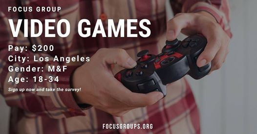 Focus Group on Video Games in La  200