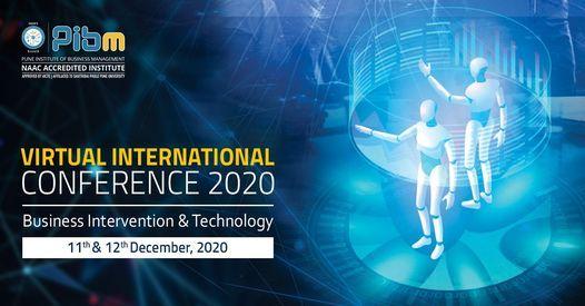 International Conference 2020  PIBM Pune