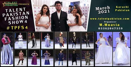 Talent Pakistan Fashion Show 4 #tpfs4 Hi, 31 December | Event in Karachi | AllEvents.in