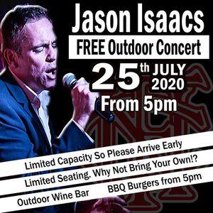 Jason Isaacs Free outdoor concert