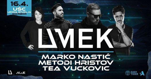 UMEK, Marko Nastić, Metodi Hristov   Maribor, 16.4.2021, 17 April   Event in Maribor   AllEvents.in