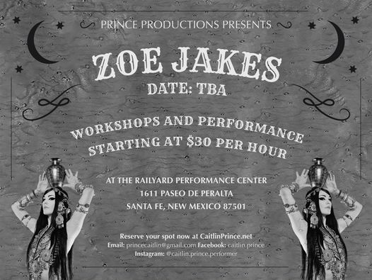 Workshops with Zoe Jakes, 11 June | Event in Santa Fe | AllEvents.in