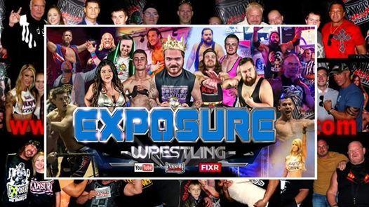 Live Wrestling: Beddau at Tynant Club, Pontypridd