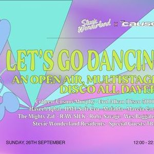 Stevie Wonderland x The Cause Lets Go Dancin - An Open-air Multistage Disco All Dayer
