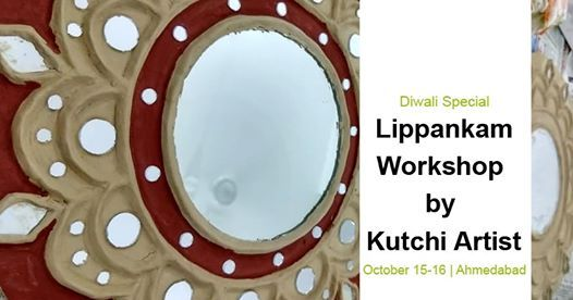 Lippankam Workshop By Kutchi Artist